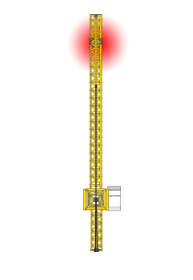 Hebelastsicht-Kamerasystem für Turmkräne von Orlaco