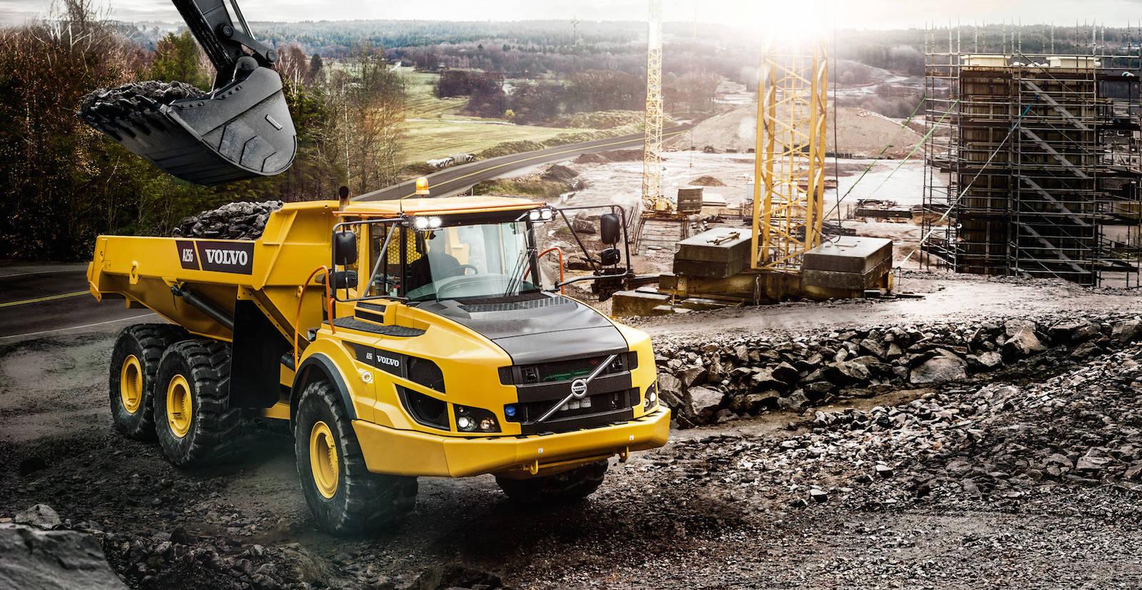 Volvo Dumper a25g