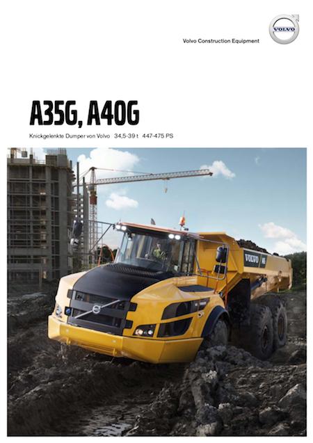 Volvo Dumper a35g Produktbroschuere