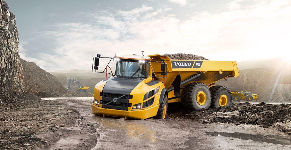 Volvo Dumper a40g