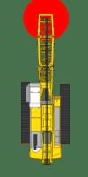 Hebelastsicht-Kamerasystem für Raupenkräne von Orlaco